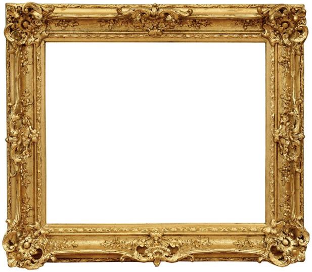 Cadre style Louis XV - REF384